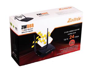 Zoltrix ZW888-3G-300mbps-Wireless-ADSL2+Router